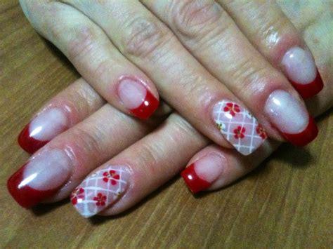 nail con fiori oltre 1000 idee su unghie con fiori su gel per