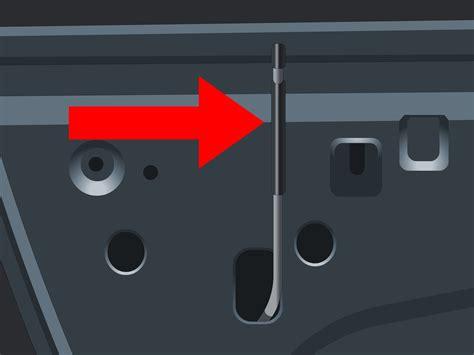 3 ways to open frozen car doors wikihow