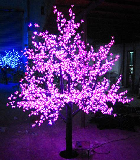 led outdoor tree lights 2meters 1728 leds super bright