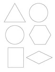 Template For Shapes by Preschool Concept Of Half And The Everyday
