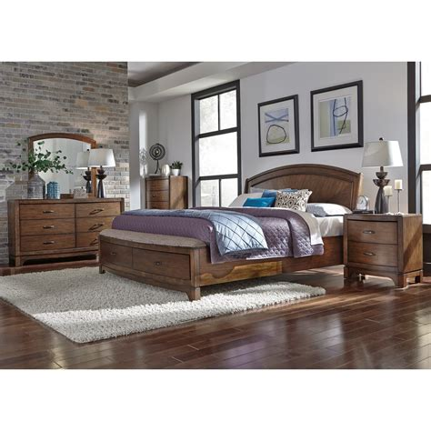 liberty furniture avalon iii 705 br qpbsdmcn queen bedroom