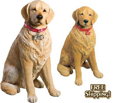 golden retriever statue the golden retriever store section figurines sculptures statues