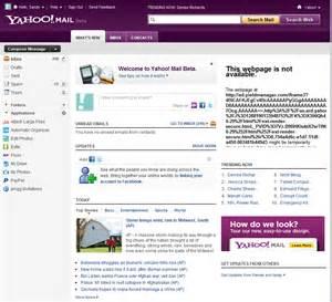 Yahoo mail beta faster unlimited storage ghacks tech news