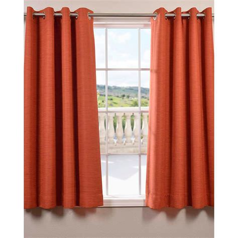 50 x 63 curtain panels exclusive fabrics furnishings persimmon bellino grommet