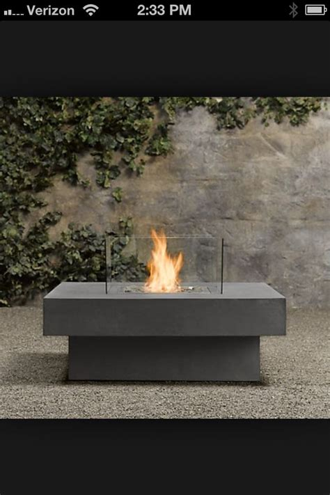 restoration hardware fire table 17 best images about warm sunny on pinterest pool