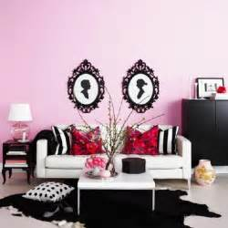 black and pink living room pink and black living room contemporary living room