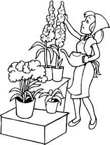 dessins de jardinage 224 colorier