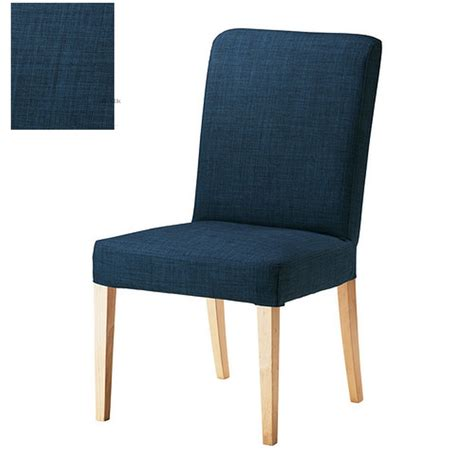 ikea dining chair slipcovers ikea henriksdal skiftebo chair slipcover cover 21 quot 54cm blue