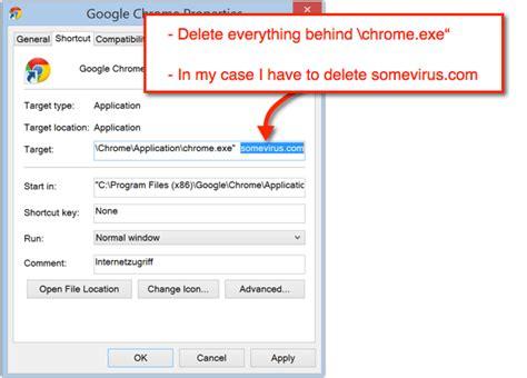 chrome exe how to clean google chrome shortcuts solverbase com