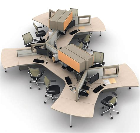 modular office furniture for modern style office architect