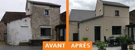 Facade Avant Apres by R 233 Alisations