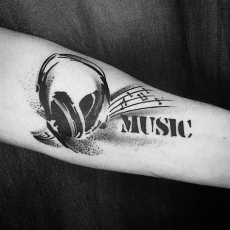 99 creative music tattoos that are sure to blow your mind