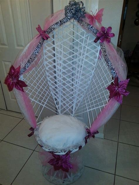 Baby Shower Decorated Chair by Baby Shower Chair Peacock Chair Decorating Ideas