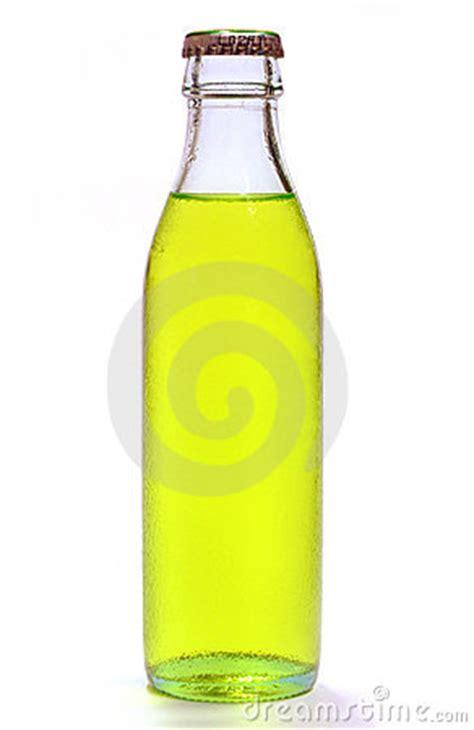 bottle  yellow lemonade stock image image