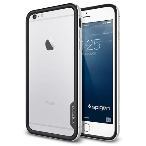 Spigen Sgp Neo Hybrid Ex Series Iphone 66s Original Original spigen neo hybrid ex metal series for iphone 6 plus satin silver