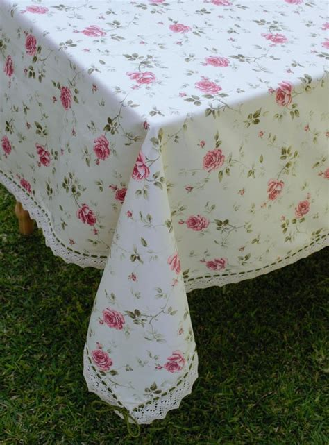 Handmade Table Cloths - handmade tablecloth with motif tablecloths