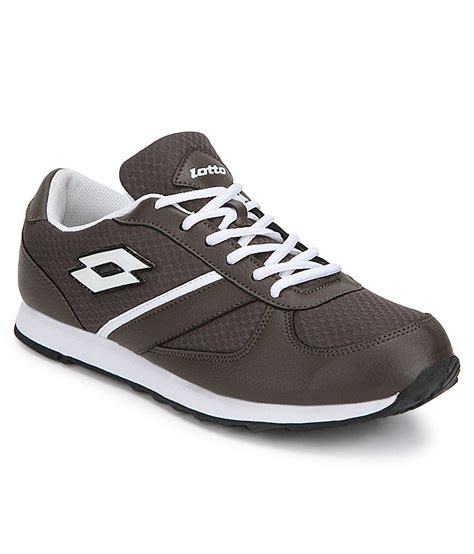 lotto sports shoes price lotto jogger brown sports shoes price in india buy lotto
