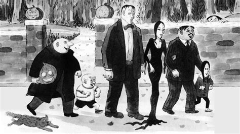How To Make A House Floor Plan by The Addams Family Cartoons By Charles Addams Youtube