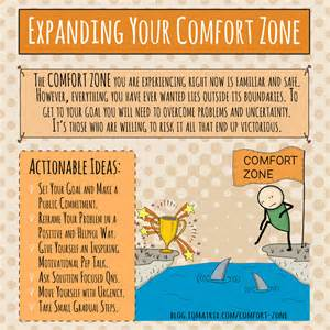 how to expand your comfort zone to achieve your goals