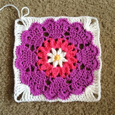 pattern for heart granny square heart mandala octagon to square cypress textiles
