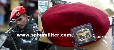 Topi Baret Kostrad By Bareto baret kopassus asli jatah spbu militer
