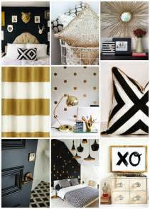 black white and gold colors i want to use for my home