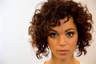 diagonal bob haircut curly hair a line bob haircut on curly hair on the road education