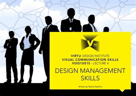 design management lecture vdis10015 design management skills lecture 4