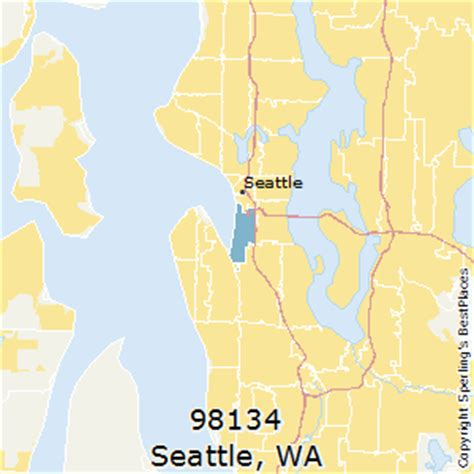 zip code maps seattle best places to live in seattle zip 98134 washington