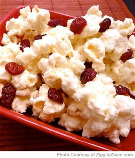 Snack Echo 1 white chocolate popcorn snack parenting
