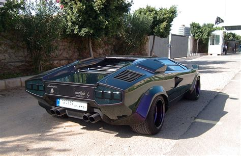 Lamborghini Countach Modified by Lebanesedude 1986 Lamborghini Countach Specs Photos