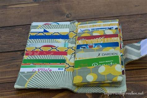 tutorial carding walmart mega credit card wallet sewing tutorial