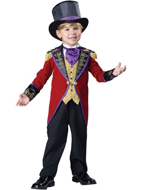 kids ringmaster deluxe boys toddler costume 62 99 the