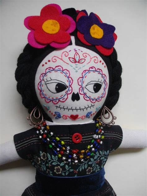how to make a mexican rag doll 307 best images about frida kahlo on day of