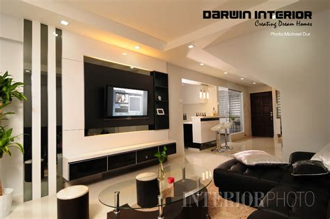Living Room Interior Design Singapore by 4 Room Hdb With Balcony Studio Design Gallery Best