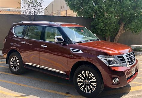 2019 Nissan Patrol by 2019 Nissan Patrol Gets New Colours Accessories Drive