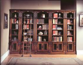 Library Wall Bookcase Parker House Davinci Library Bookcases Ph Dav420 430 6 At