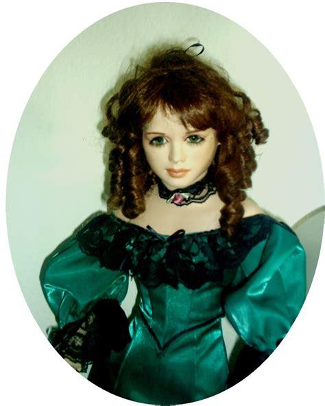 porcelain doll hair porcelain dolls