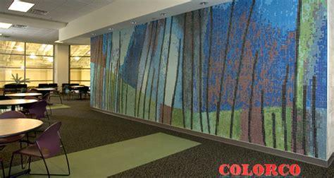 public art mosaics colorco custom surface design fabrication mosaic waterjet