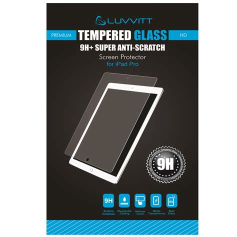 Tempered Glass Pro luvvitt tempered glass screen protector for pro 12 9