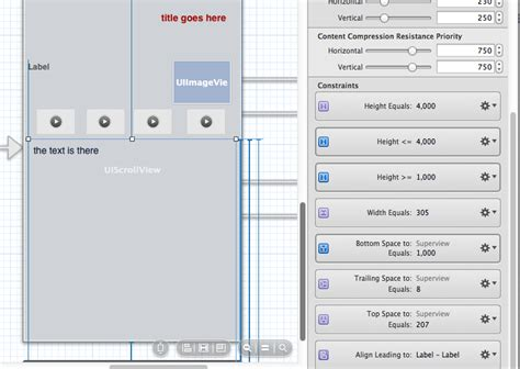 auto layout uitextview height ios uitextview that expands dynamically to text inside a