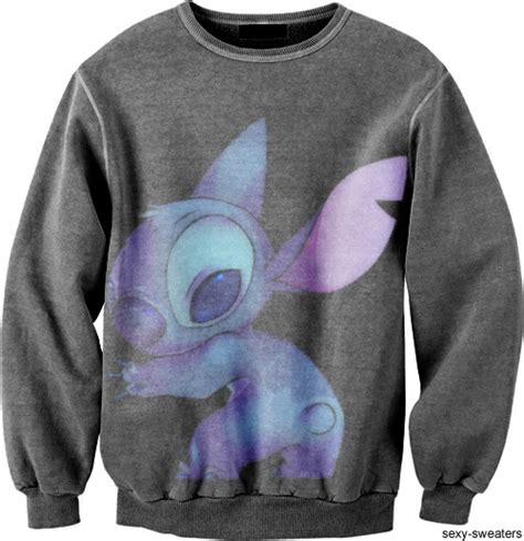 Sweater Rajut Lilo Stitch i would wear this every day fashion stitch