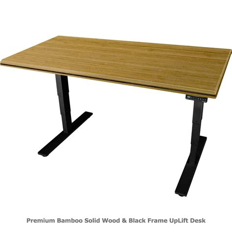 bamboo stand up desk shop uplift 900 standing desks with premium bamboo top