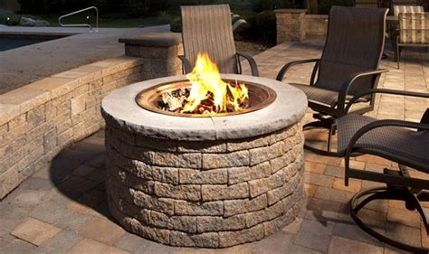 outdoor gas pit kits outdoor pit kits traditional pits by ep henry