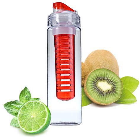 Botol Minum Infuser Tritan Bpa Free 700ml 700ml Fruit Juice Infuser My Sport Detox Water Bottles Flip Lid Tritan Bpa Free Health