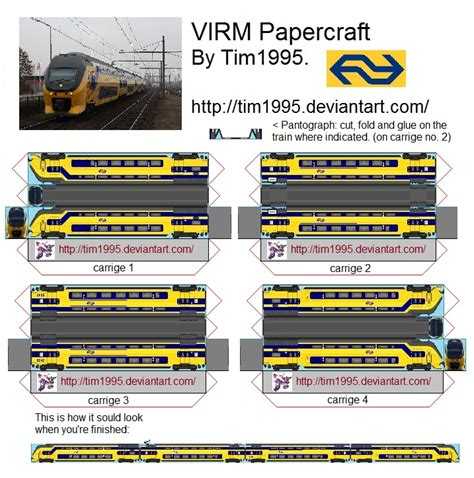 Railroad Point Right Paper Craft virm papercraft by tim1995 on deviantart