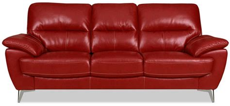 The Brick Leather Sofa by Leather Look Fabric Sofa The Brick