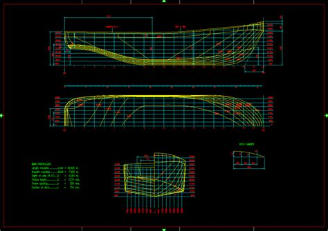 boat plans offsets boat plan autocad free boat plans top