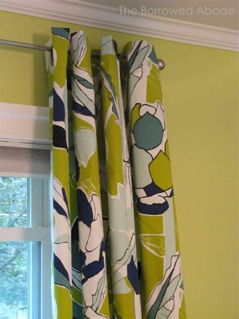 floral curtains ikea ikea chartreuse navy floral curtains for the home