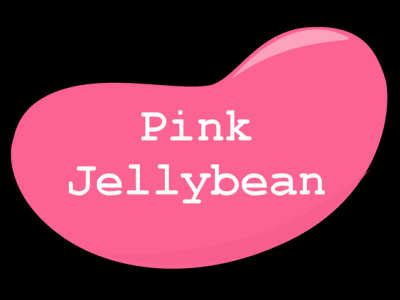 Jelly Been Pink pink jelly bean scary story scary website